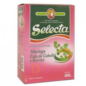 Bilde av Selecta Yerba Mate Compuesta - Moringa, Cola de Caballo y Burrit