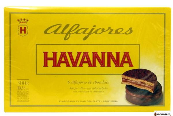 Alfajores Havanna - Sjokolade 6 stk