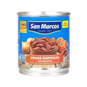Bilde av SAN MARCOS Chipotle Chilli i Adobo saus 215g