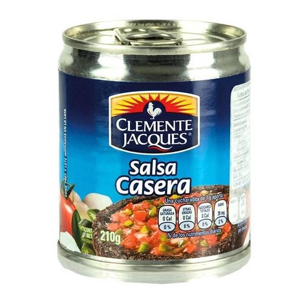 CLEMENTE JACQUES Red Dip Sauce - Salsa Casera 210g