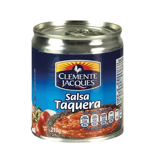 CLEMENTE JACQUES Hot Spice Sauce Salsa Taquera 210g