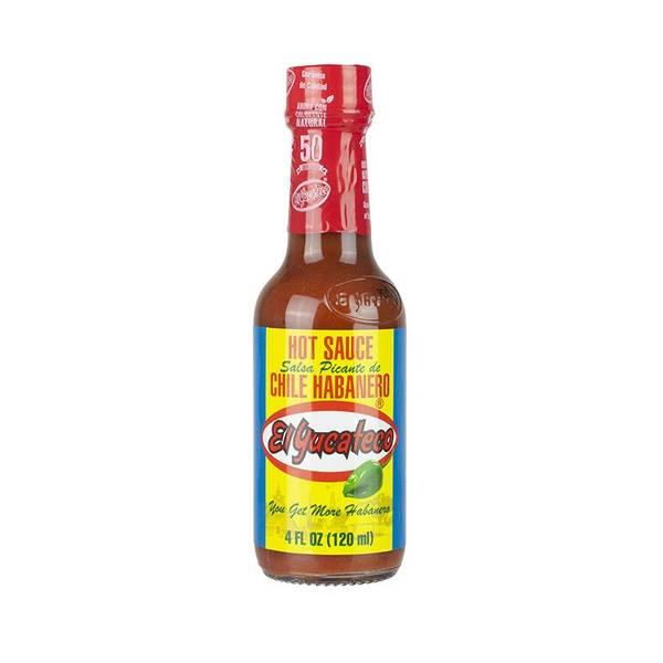 EL YUCATECO Red Habanero Chili Sauce 120ml