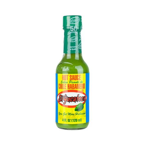 EL YUCATECO grønn Habanero chilisaus 120ml
