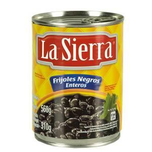 Bilde av LA SIERRA Krydret hele svarte bønner 560g