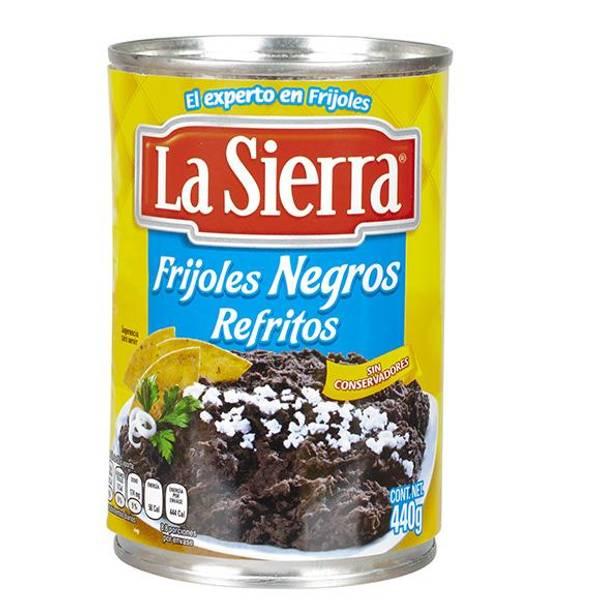 LA SIERRA Frityrstekt svart bønnepuré 440g