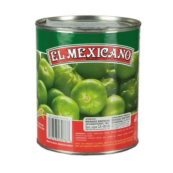 EL MEXICANO Hele grønne tomater Tomatillos Enteros 767g