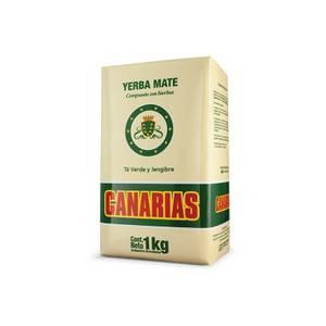 Bilde av Canarias Yerba Mate con TE VERDE Y JENGIBRE 1 kg