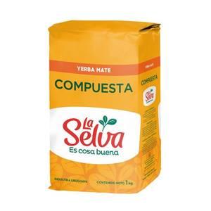 Bilde av La Selva Yerba Mate COMPUESTA 1 kg