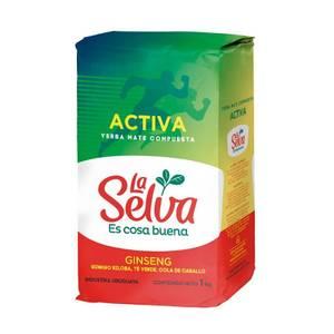 Bilde av La Selva Yerba Mate ACTIVA 1 kg