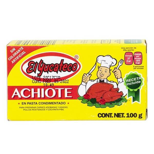 EL YUCATECO Achiote/Urucum Paste 100g