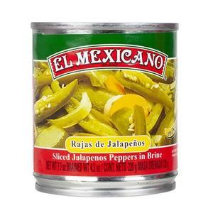 Bilde av EL MEXICANO Rajas de Jalapeños220g