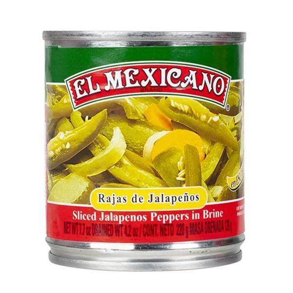 EL MEXICANO Rajas de Jalapeños220g