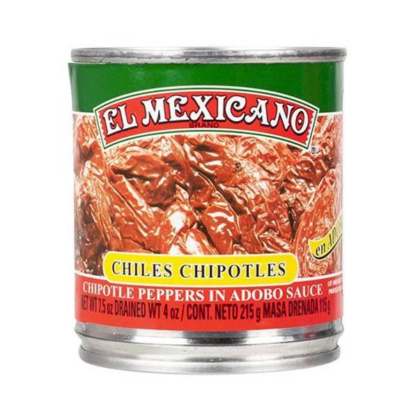 EL MEXICANO Chiles Chipotles Enteros 215g