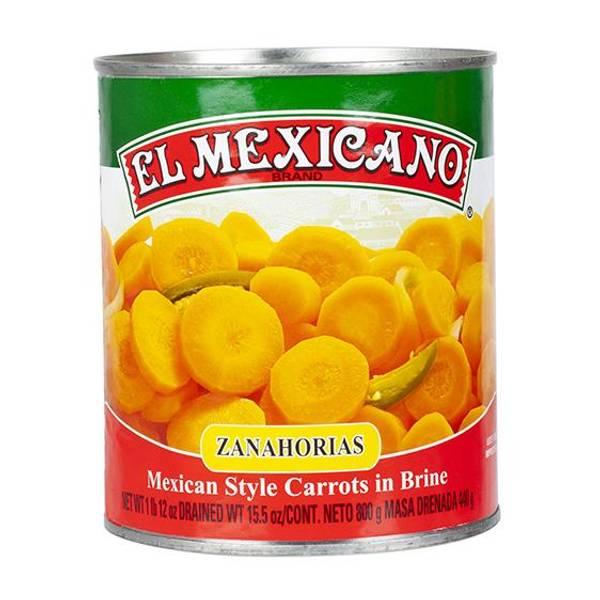 EL MEXICANO Zanahoria en Escabeche 800g