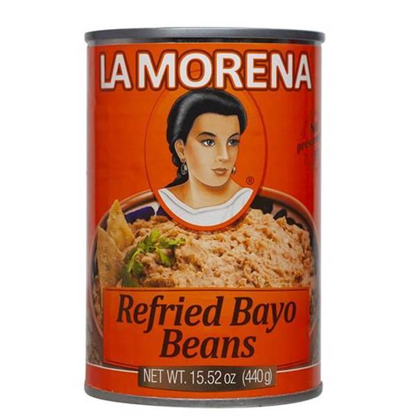 LA MORENA Frijoles Bayos Refritos440g