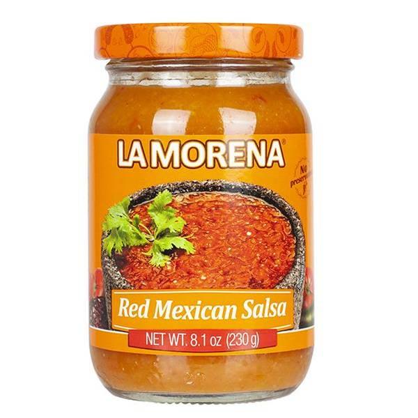 LA MORENA Salsa Roja Mexicana 230g