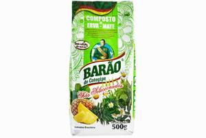 Bilde av Barao Erva Mate w/ Herbs and Pineapple 500g