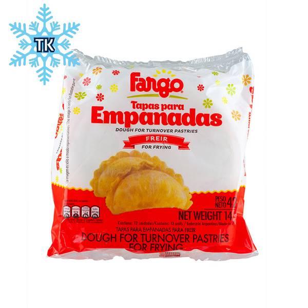 Tapas para Empanadas Grande - Freir FARGO 420g