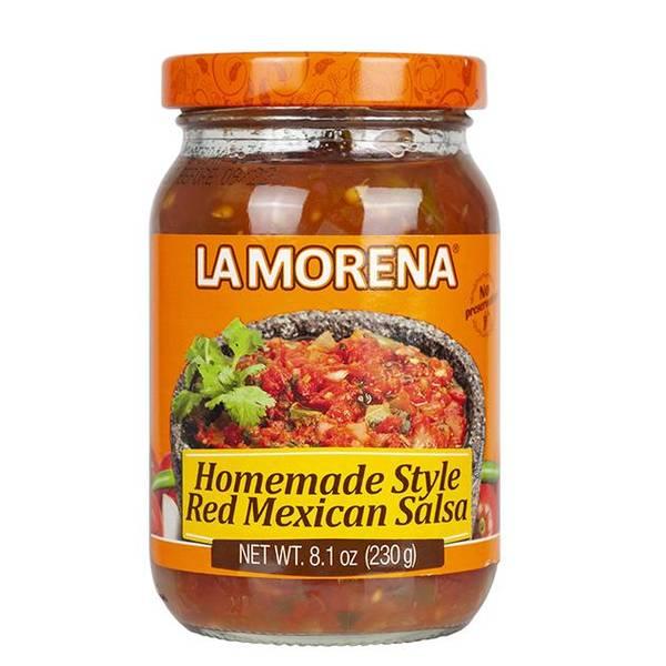 LA MORENA  Salsa Roja Mexicana Casera 230g
