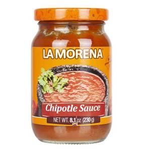 Bilde av LA MORENA Salsa Picante de Chiles Chipotle 230g