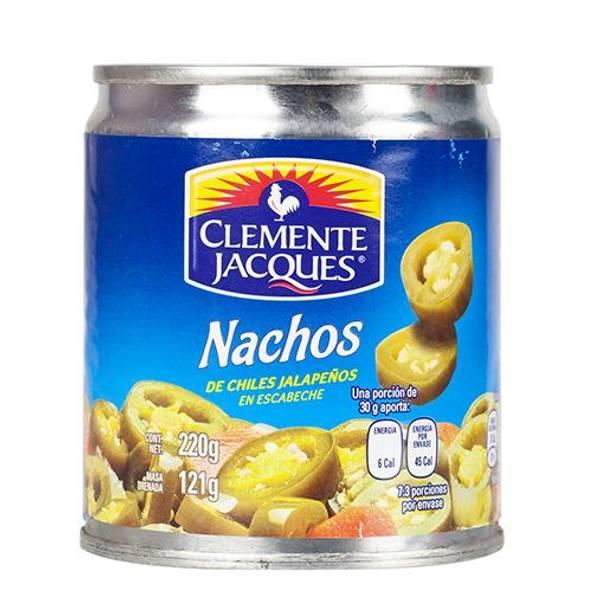 CLEMENTE JACQUESNachos de Chiles Jalapeños 220g