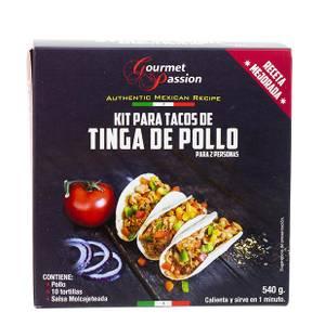 Bilde av GOURMET PASSION Kit Tacos de Tinga de Pollo 540g