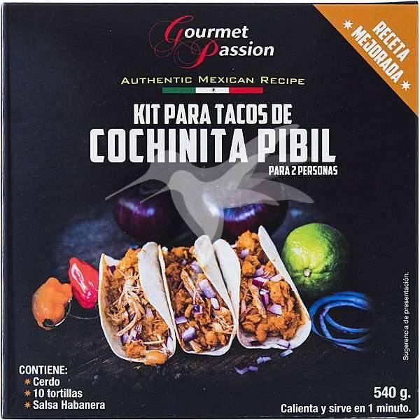 GOURMET PASSION Kit Tacos de Cochinita Pibil540g