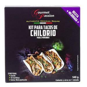 Bilde av GOURMET PASSION Kit Tacos de Chilorio 540g