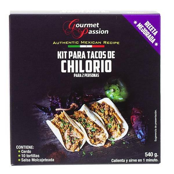 GOURMET PASSION Kit Tacos de Chilorio 540g