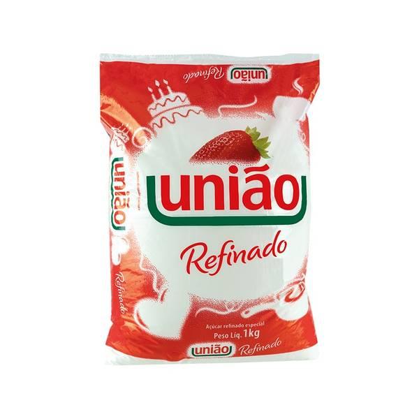 Açucar Refinado UNIÃO 1kg - hvitt rørsukker