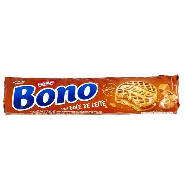 BONO Recheado DOCE DE LEITE Nestle126g