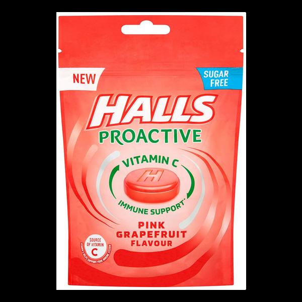 Halls Proactive Pink Grape 65g