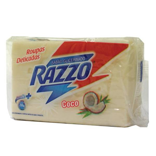 RAZZO kokossåpe Sabão de Coco 200g