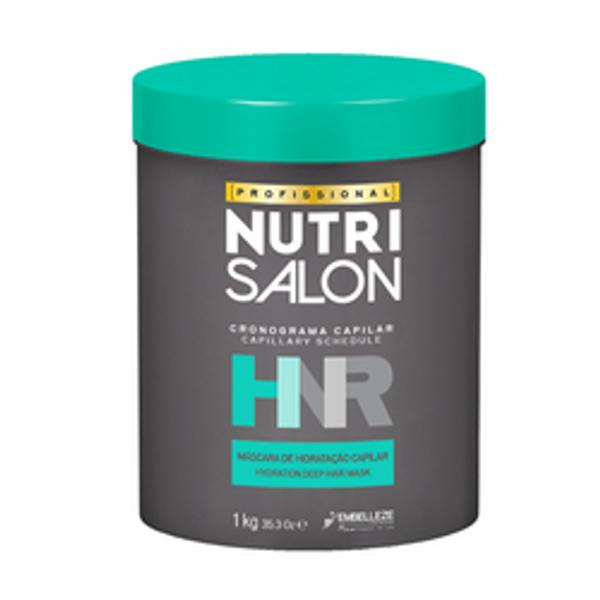 NUTRISALON HNR CRONOGRAMA CAPILAR HIDRATAÇÃO NOVEX 1 Kg