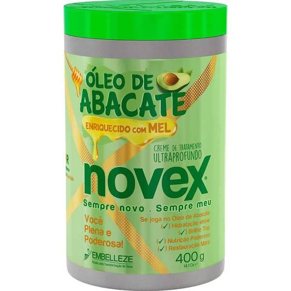 MÁSCARA ÓLEO DE ABACATE NOVEX 400g