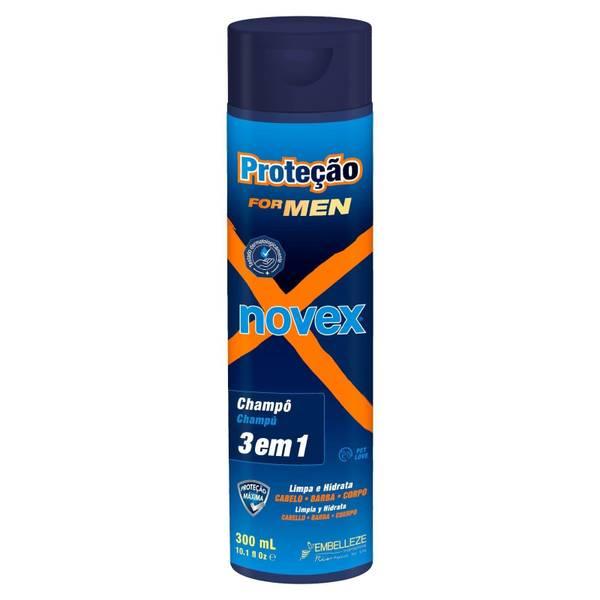SHAMPOO DE PROTEÇÃO FOR MEN NOVEX 300 ml