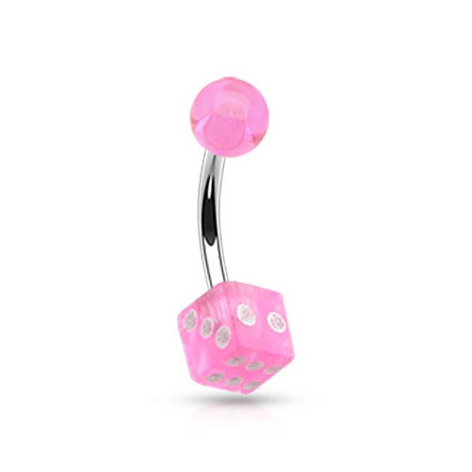 Bilde av Piercing, Terning rosa