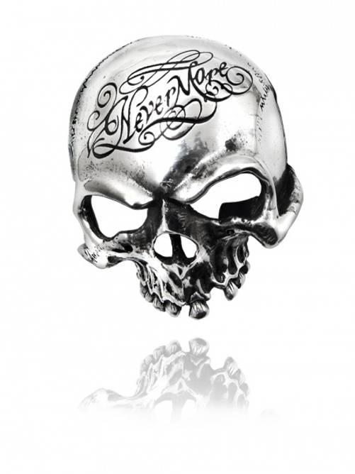 Bilde av Beltespenne Nevermore Skull