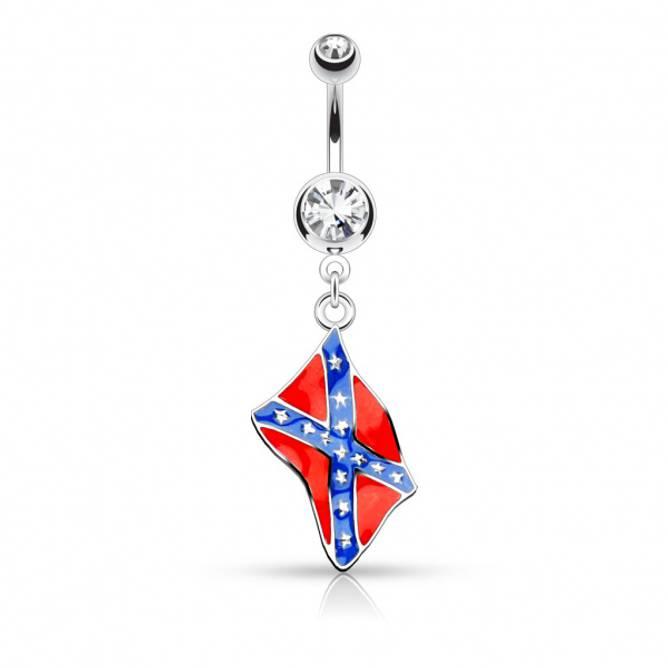 Bilde av Piercing, Sørstatsflagg