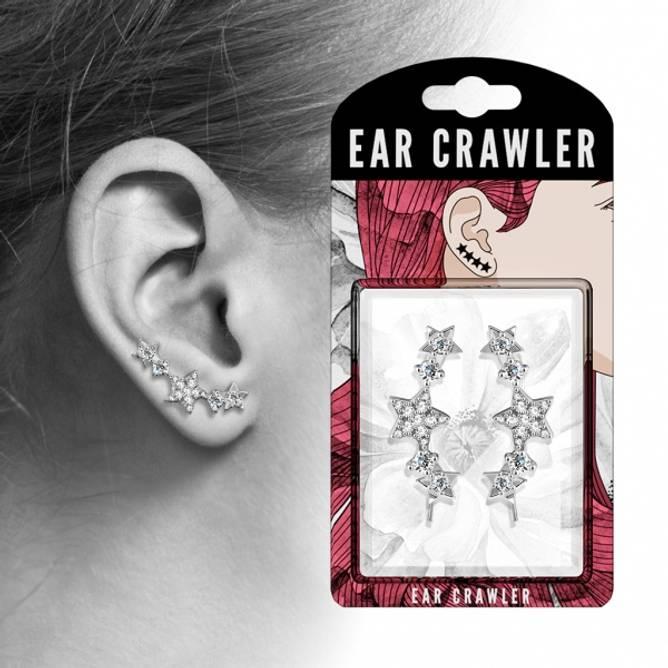 Bilde av Ear crawler Hvite stjerner