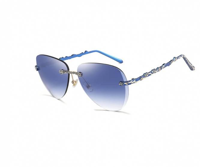 Bilde av HDCRAFTER blå solbriller med