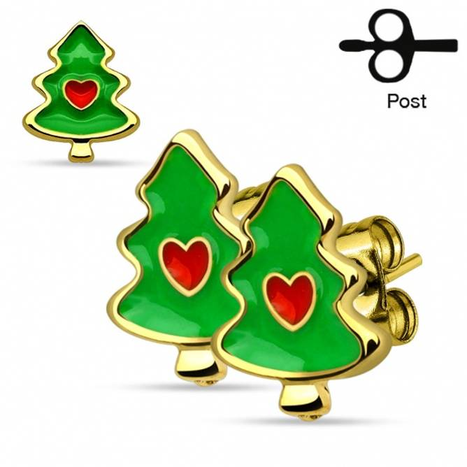 Bilde av Juleøredobber Juletre