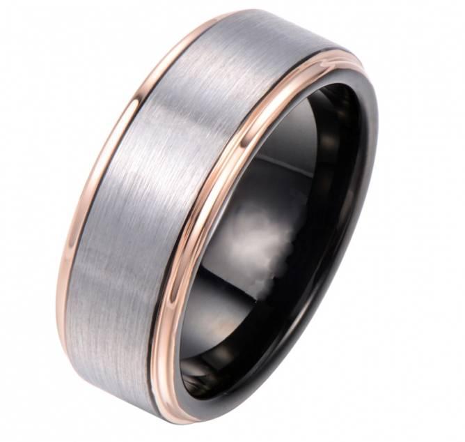 Bilde av Tungstensring Sort