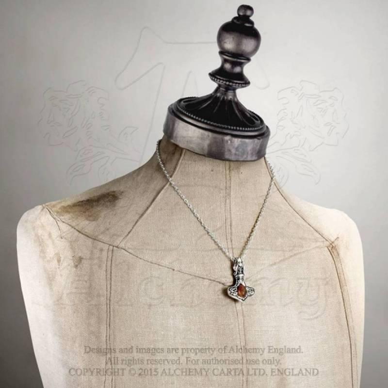 Bilde av Alchemy of England  Amber Dragon Thorhammer