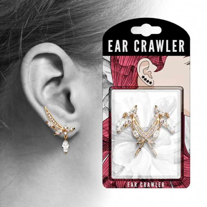 Bilde av Ear crawler Rosegullbelagt