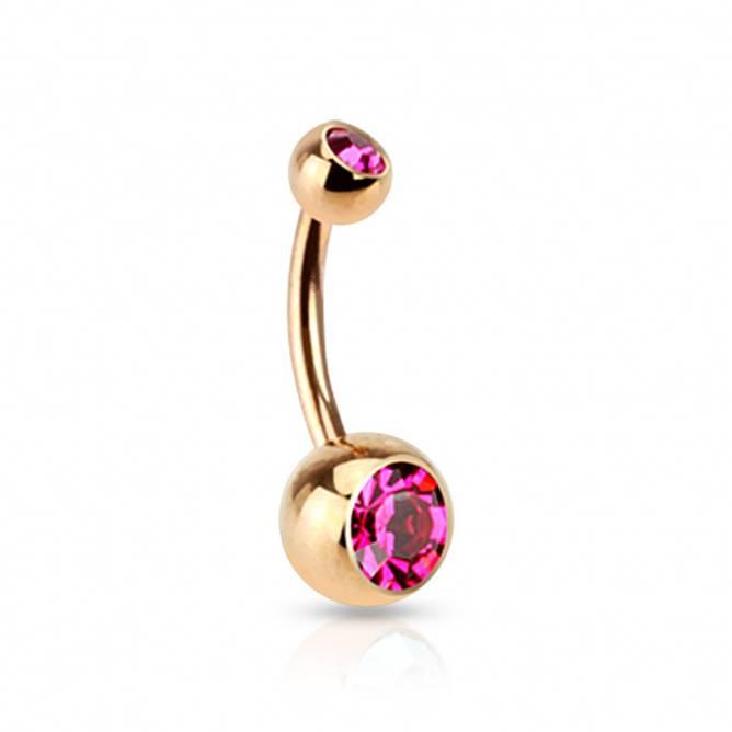 Bilde av Piercing, Enkel med rosa