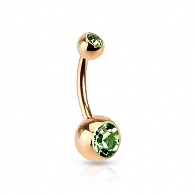 Bilde av Piercing, Enkel med grønn