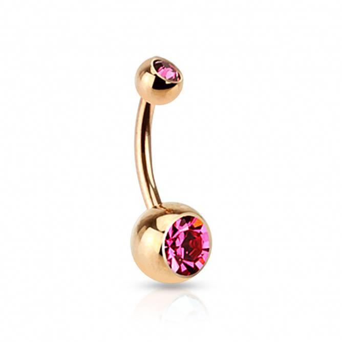 Bilde av Piercing, Enkel med lys rosa
