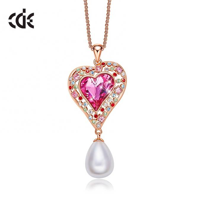 Bilde av CDE Halskjede Pink Heart