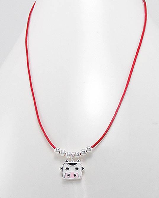 Bilde av Rødt halskjede, Ku